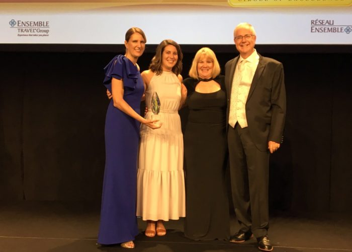 Kemp Travel Wins Prestigious Warren Buckner Award for Innovation