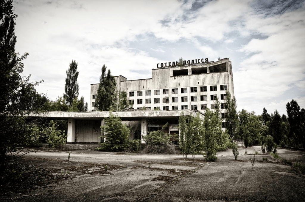 Chernobyl, Ukraine, Creepy Places to Travel