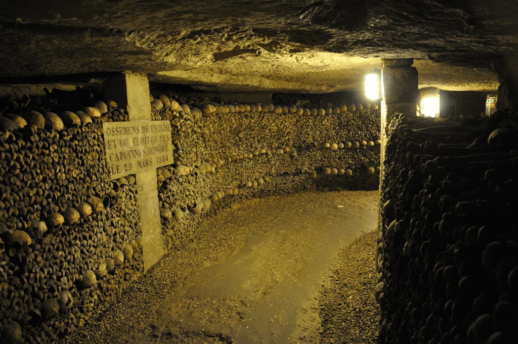 Catacombs of Paris, Creepy Places to Travel