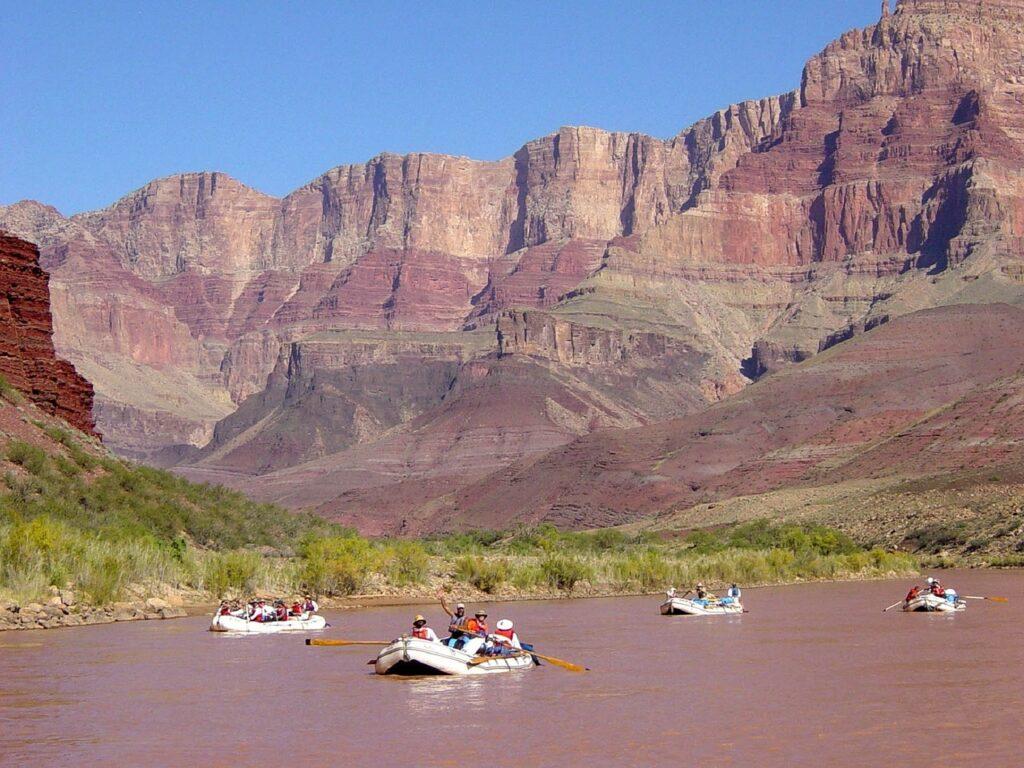 Rafting the Colorado River -North American Adventures