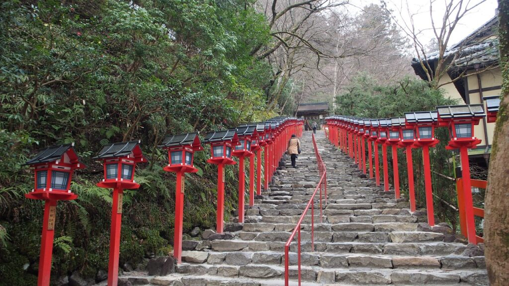 Kifune Shrine steps