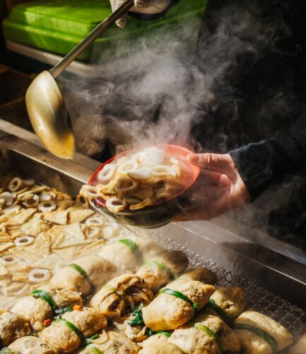 Fish Cake in Busan Market