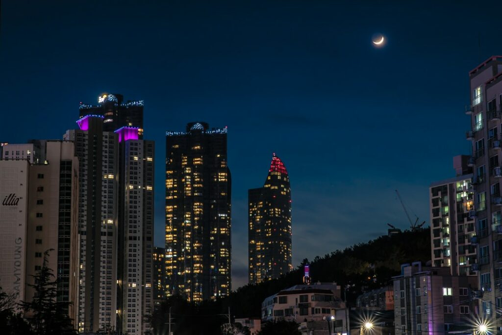 Busan at Night