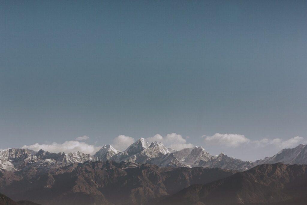 Views of the Himalayas from Nagarkot, Nepal. Photo by Rishab Lamichhane. Top 10 Mountain Vacations