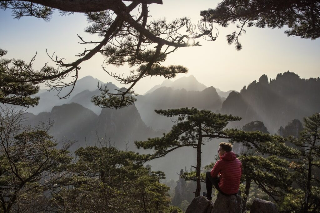 Sunrise in Huangshan, China. Photo by Joshua Earle. Top 10 Mountain Vacations