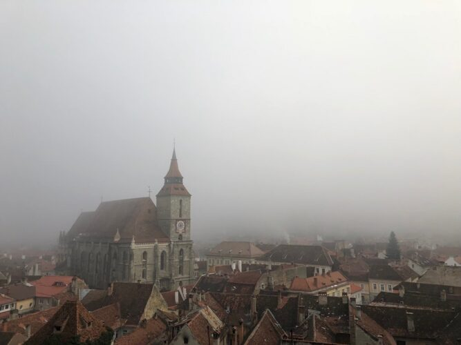 Black Church, Brasov, Romania. Photo by Florinel Gorgan.