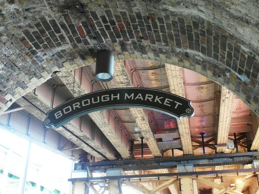 Borough Market, London - Food