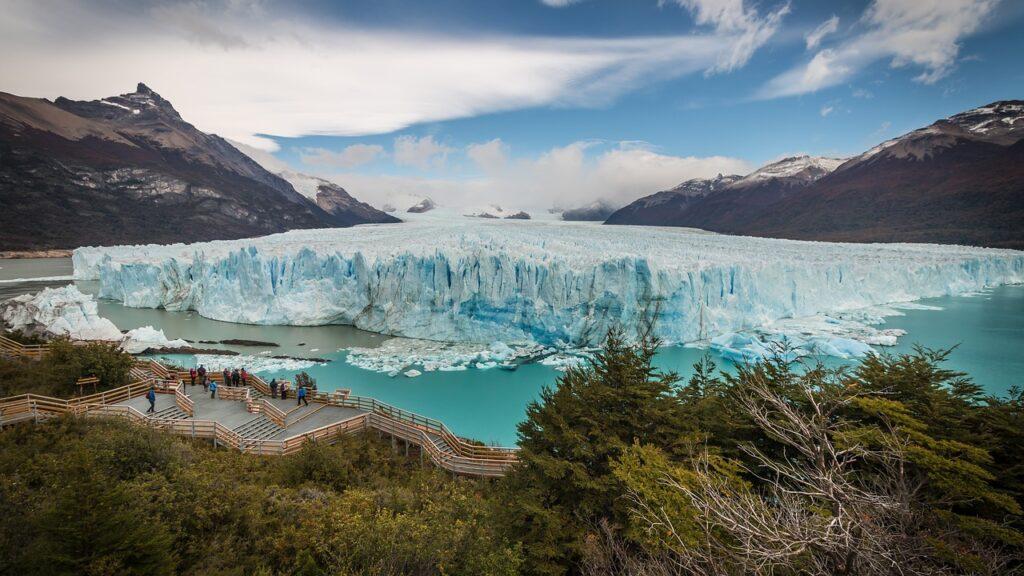 Perito Moreno Glacier located in the Los Glaciares National Park