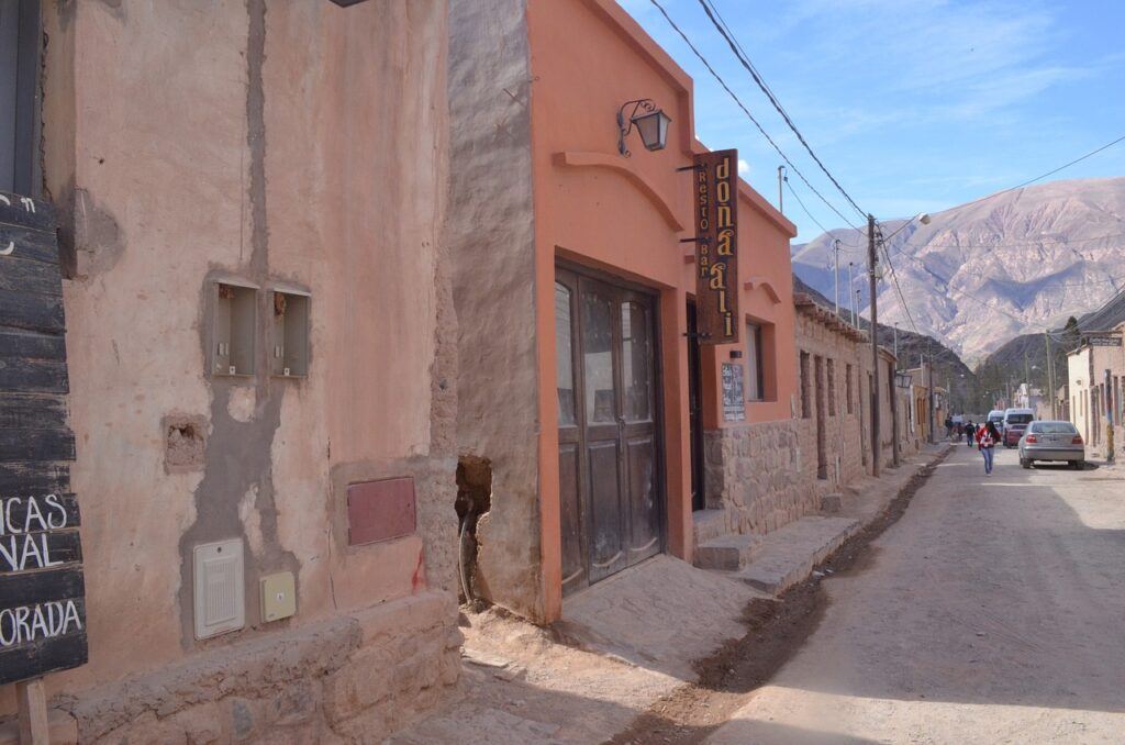 Purmamarca village in the Jujuy province