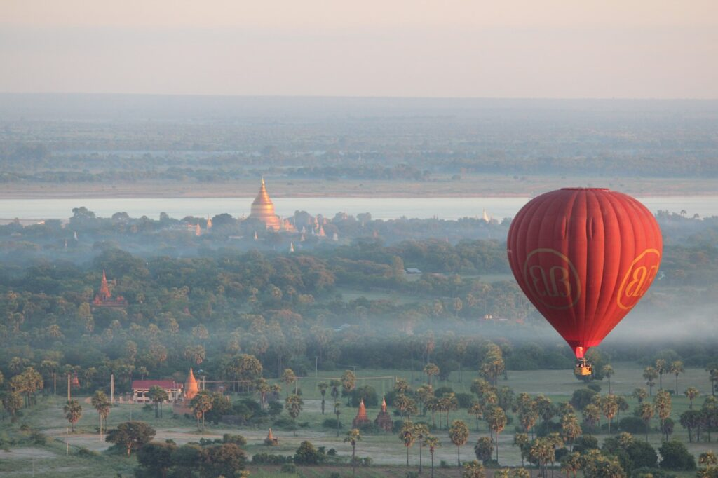 Hot Air Balloon Trips Myanmar