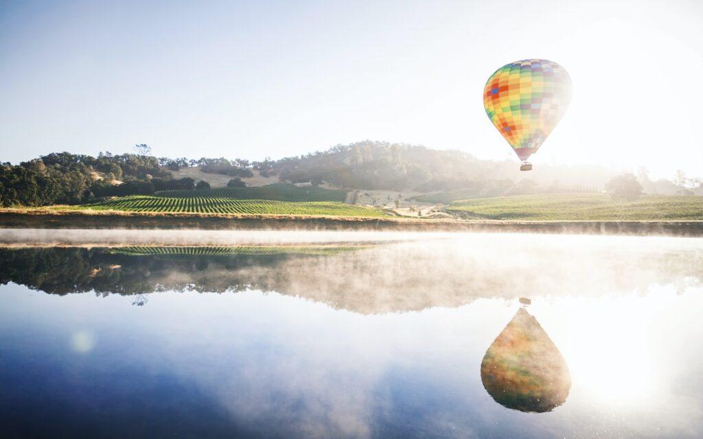 Hot Air Balloon Trips Napa