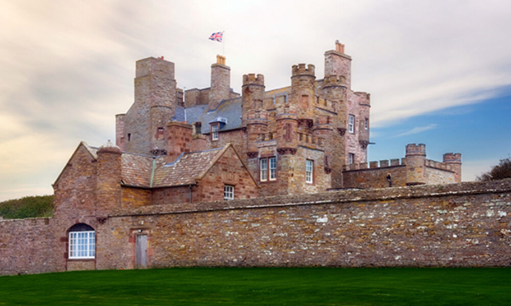B8K968 Castle of Mey. Image shot 2008. Exact date unknown.